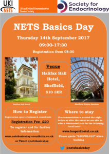 NETs Basics Day poster updated with logo