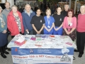 PHOTOGRAPHS OF THE NET CANCER DAY STAND